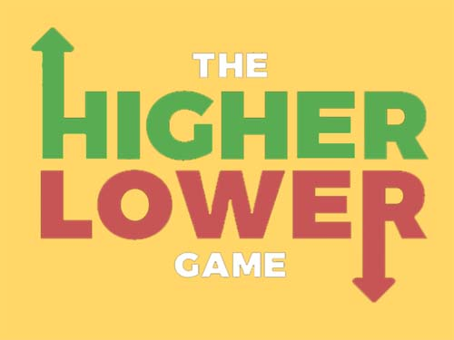 Play Higher lower game