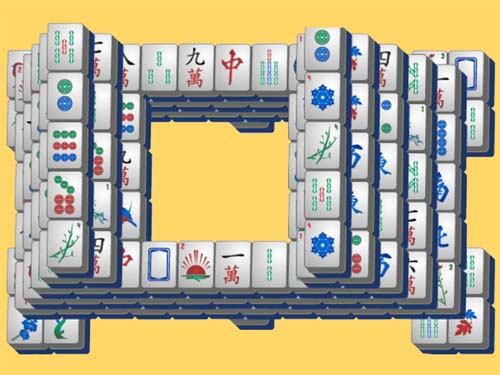 Play Hollow Mahjong