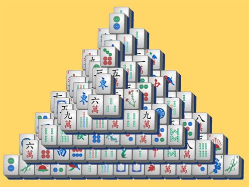 Play Triangle Mahjong